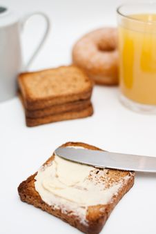 Free Toast For Breakfast Royalty Free Stock Images - 17471859