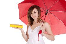 Free Umbrella Book Stock Photo - 17472220