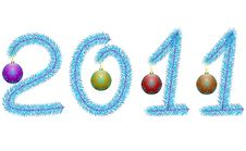 Free New Year 2011 Royalty Free Stock Image - 17472416