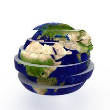 Free Sliced World Stock Images - 17472464