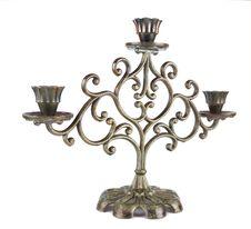 Free Metal Candlestick Stock Photo - 17472650