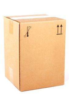 Free Cardboard Box Royalty Free Stock Photos - 17472748