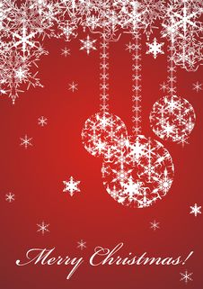 Free Merry Christmas Royalty Free Stock Photography - 17473047