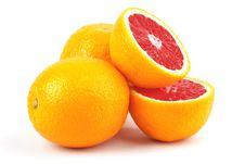 Sicilian Orange Royalty Free Stock Photography