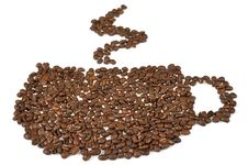 Free Coffee Beans Stock Photography - 17473352