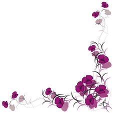 Free Floral Background Frame Stock Photos - 17473593
