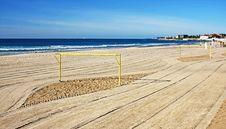 Free Beach Soccer Field Stock Photography - 17474252