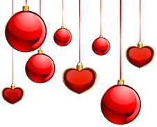 Free Christmas Balls Royalty Free Stock Photos - 17474548