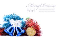 Free Christmas Decoration Objects Royalty Free Stock Image - 17474806
