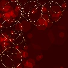 Free Red Sparkle Background Royalty Free Stock Photo - 17475105