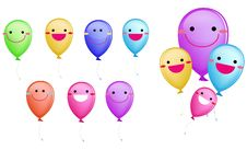 Free Happy Balloon Stock Image - 17475111
