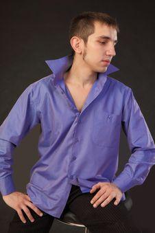 Free Fashion Shot Of A Macho Man. Stock Photos - 17475303