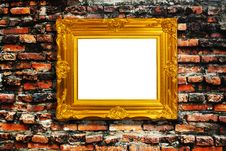 Free Frame On Brick Royalty Free Stock Image - 17475406