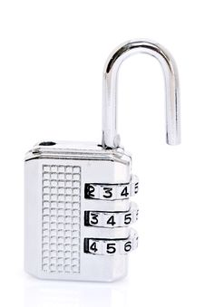 Free Open Combination Padlock Stock Images - 17475464