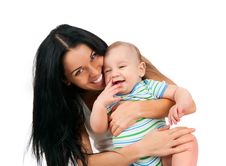 Free Young Women With Her Son Stock Images - 17475744