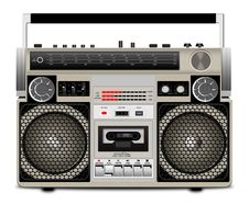 Free The Cassette Tape Recorder Royalty Free Stock Images - 17475779