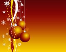 Free Illustration Of New Year S Spheres And Ornament Stock Photo - 17475790