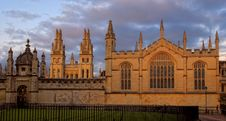Day View Of All Souls College At Oxford