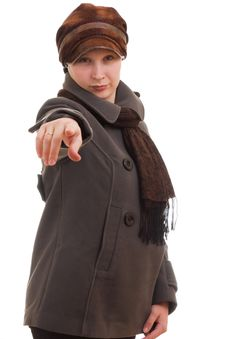 Free A Girl In Winter Clothes Stock Image - 17477171