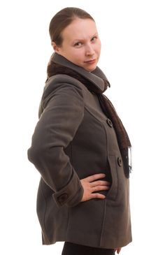 Free A Girl In Winter Clothes Royalty Free Stock Photos - 17477188