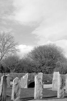 Free Ancient Gaelic Standing Stone Circle Royalty Free Stock Photo - 17477395