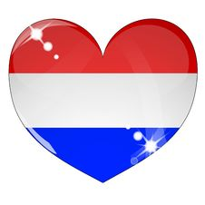 Free Icon Of Netherlands Flag Stock Images - 17478424