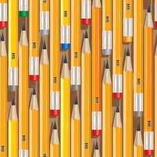 Free Pencil_pattern_1 Stock Image - 17479031