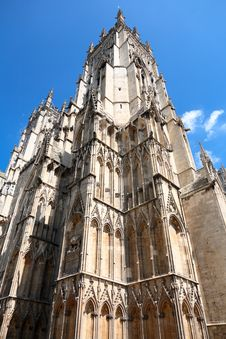 Free Gothic Cathedral In York, England Stock Photography - 17479582