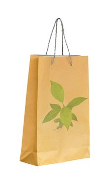 Free Concept Picture Of Recycle Paper Bag Stock Images - 17479724