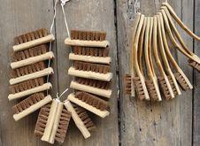 Shoe Brush Royalty Free Stock Image