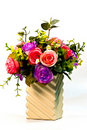 Free Artificial Flowers Made Of Cloth. Stock Images - 17481794