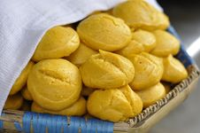 Steamed Corn Bread Stock Images