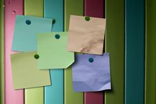 Free Multicolored Notes Stock Photos - 17480933