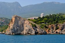 Free Rock And Crimean Coast Royalty Free Stock Image - 17481416