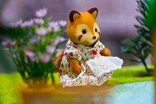 Free Sweet Soft Cat Toy Stock Image - 17481611