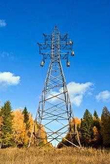 Free Reliance Power Line. Stock Photos - 17481683