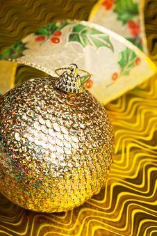 Free Christmas Decoration Ball Stock Photography - 17481722