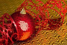 Free Christmas Decoration Ball Stock Photo - 17481770