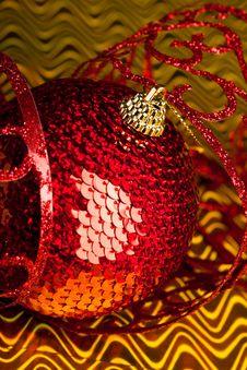 Free Christmas Decoration Ball Royalty Free Stock Images - 17481779