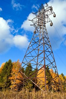Free Reliance Power Line. Royalty Free Stock Image - 17481816