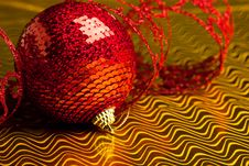Free Christmas Decoration Ball Stock Images - 17481834