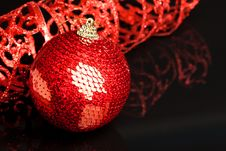 Free Christmas Decoration Ball Royalty Free Stock Photography - 17481877