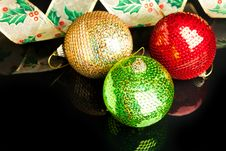 Free Christmas Decoration Ball Royalty Free Stock Image - 17481906