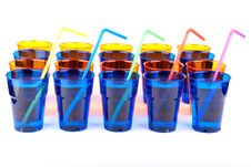 Free Plastic Glasses Isolated Stock Photos - 17482263
