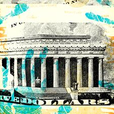 Abstract US Dollar Stock Photography