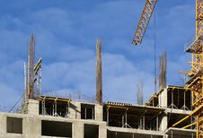 Building Crane Royalty Free Stock Photography