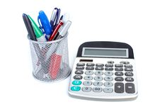 The Calculator And Pen
