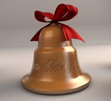 Free Xmas Bell Royalty Free Stock Image - 17484126