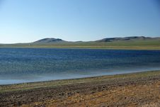 Free Lake In Mongolia Stock Image - 17484271
