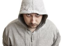 Free Young Man In A Hood Stock Photo - 17485440